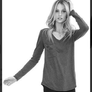 Bobi Los Angeles Long Sleeve Pocket Tee